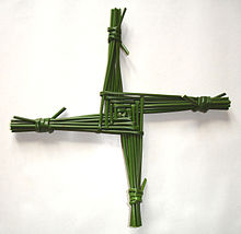 A Saint Brigid's Cross